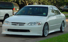 NEW 1998 1999 2000 HONDA ACCORD SEDAN WW STYLE FRONT LIP SPOILER BODY KIT 98 99