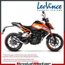 KTM DUKE 125 2018 18 LEOVINCE AUSPUFF ENDSCHALLDAMPFER LV PRO EDELSTAHL 14183E