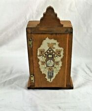 Wooden Trinket Box Vintage Collectible Box Designed By Brian, Hope and Pat Breen