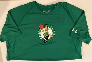 Under Armour NBA Boston Celtics Combine Primary Logo Tee - Size XL