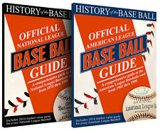 HISTORY OF THE BASEBALL - OFFICIAL NATIONAL & AMERICAN LEAGUE BASEBALL GUIDES