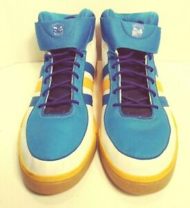 Adidas Mens Size 18 New Orleans Hornets Basketball Shoes