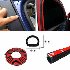 4M D Shape Universal Car Door Rubber Weather Seal Hollow Strip Weatherstrip