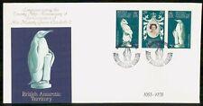 Mayfairstamps British Antarctic Territory FDC 1978 Coronation Queen Elizabeth II