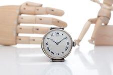 Antique Patek Philippe & Co Men's Repeater Wrist Watch Silver Case