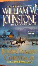 A Jensen Family Christmas by J. A. Johnstone &William W. Johnstone western  New!
