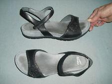 Dansko Blythe leather slingback sandals misses sz EU 41 US 10.5 - 11 Black