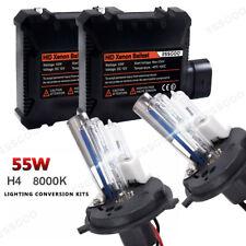 2x Essgoo 55W AUTO HID Xenon Kit H4 6000K Scheinwerfer Lampe Birnen Ballasts