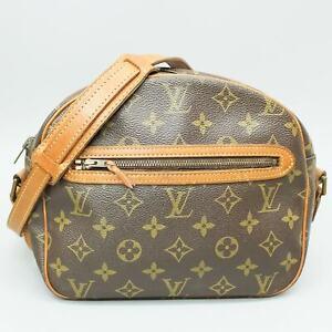 LOUIS VUITTON BLOIS Old Model Crossbody Shoulder Bag Purse Monogram M51221 Brown