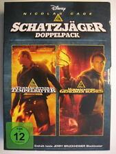 DAS VERMÄCHTNIS DER TEMPELRITTER & DAS VERMÄCHTNIS DES GEHEIMEN BUCHES 2 DVD BOX