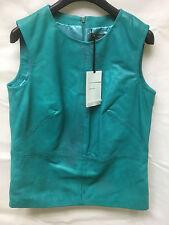 Muubaa Women's Green/Turquoise Sleeveless Top. RRP £249. UK 8. M0506.