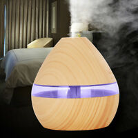 Air Aroma Essential Oil Diffuser LED Ultrasonic Aroma Aromatherapy Humidifier UK