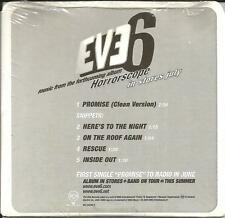 EVE 6 Rare 6trk SAMPLER w/ RARE CLEAN TRX & SNIPPETS PROMO CD Single SEALED
