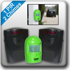 A9G2 inalámbrico entrada alerta resistente a la intemperie Sensor De Movimiento PIR Timbre de Alarma de garaje
