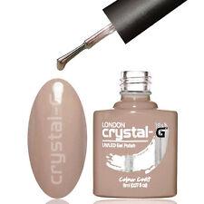 CRYSTAL-G PLAIN & DIAMOND GLITTER UV LED GEL NAIL POLISH VARNISH