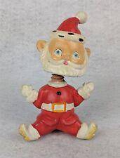 """Vintage Santa Bobblehead Figurine Japan 5"""""""