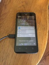"""ZTE Maven  Z812 AT&T GSM 4G LTE 8GB Android 5"""" Smartphone Black OB"""