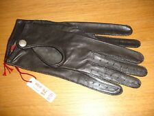 Women's Hair sheep Leather Driving Gloves BY Dents Man made Size: 8