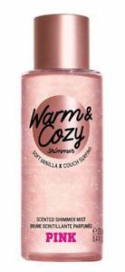 Victoria's Secret Pink New! Warm & Cozy Scented Shimmer Mist 250ml