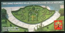 VATICAN Sc#981a-984a 1995 Nature Conservation Year Booklet Mint OG NH
