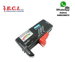 Tester For Batteries Universal BT-168 Aa AAA CD 9V Button Checker