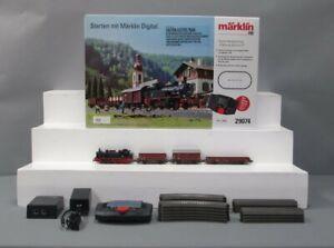Marklin 29074 HO Gauge German Railroad Era III  Steam Freight Starter Train Set