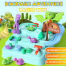 Adventure Game Train Track Set Racing Dinosaur Car Toys Kids Xmas Birthday Gifts