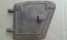 New listing Vintage Antique Al.Mel.Car.Tus Cast Iron Wood Stove Door Leaf Design No.48.16