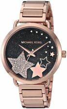 Michael Kors Women's Portia Rose Gold-Tone  Bracelet Watch 37mm MK3795
