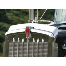 Kenworth W900L Bug Deflector, Stainless Steel