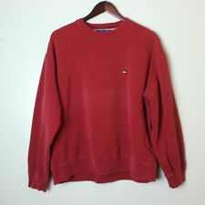 713094923eef07 VTG Tommy Hilfiger Men's Large Vintage Flag Red Sweater
