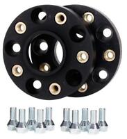 BLACK 25mm Hubcentric wheels spacers fits Seat Leon Mk1 all inc FR Cupra and R
