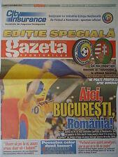 gazeta LS 6.9.2013 Romania Rumänien - Hungary Ungarn