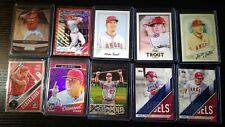 2018 & 2019 Mike Trout Topps Insert Gallery AP Optic & Prizm Lot