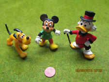Figurine plastique séries BD et TV Donald-Mickey-Pluto