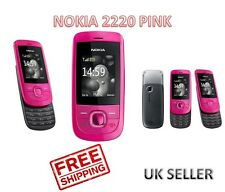 Brand New Nokia 2220 Slide Hot Pink Unlocked Camera Mobile Phone Complete in Box