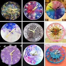 Handmade Craft Epoxy Casting Mold Silicone Mold Crystal Glue Clock Resin Mould
