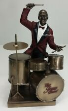 Jazz Band Collection - Drum Player Home Decor Statue Sculpture Figurine