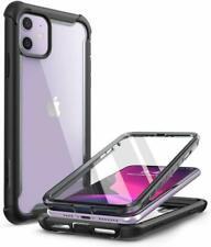 I-Blason Coque Iphone 11, Coque Intégrale Anti-Choc Bumper Avec Dos Transparent