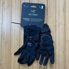 Arc'teryx Alpha SL Gloves XS Unisex Black 23424 Windstopper Gore