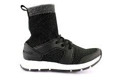 Tommy Hilfiger Kinder Sneaker High Socken-Sneaker Turnschuhe Schwarz EUR 31