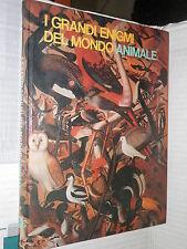 I GRANDI ENIGMI DEL MONDO ANIMALE GLI UCCELLI Vol 1 Gaudin Ferni 1975 fauna di