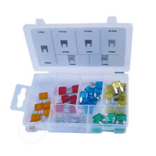 Kfz Elektrik Sicherungen Flachstecksicherung Mini 60tlg.+Aufbewahrungsbox