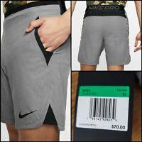 Nike Pro Flex Training Shorts Men's Size XL CD4317-071 Gunsmoke $70 Grey