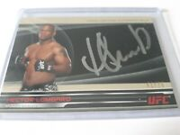 2013 Topps Knockout UFC Autograph Hector Lombard 41/75 Card# FC-HL