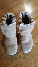 Womens Skechers One the Go Gogomat Tan Boots Size 7.5 Wide