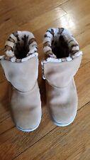 Skechers GOwalk Suede Faux Fur Boots w/ Memory Foam Size 7.5W