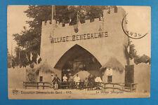 Belgien AK Gand Gent 1913 Exposition Universelle Village Senegalais Senegal  BE4