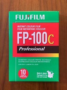 Fujifilm FP-100C ISO 3.5x4.2 in Professional Instant Color Film