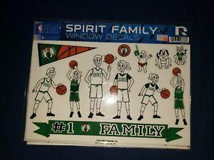 Spirit Family Window Decals NBA Boston celtics Massachusetts bird pierce KG